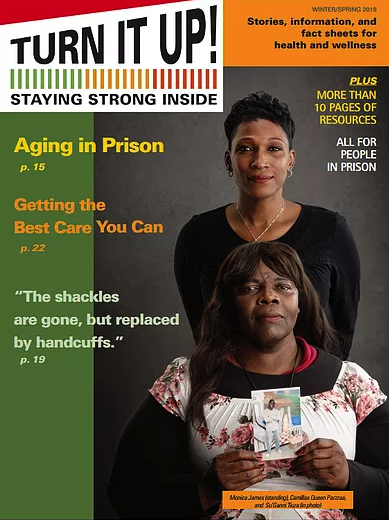 Second issue of Turn It Up! prison health magazine nowavailable